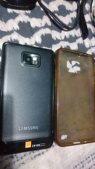 Samsung Galaxy con funda