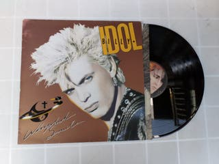 Vinilo LP BILLY IDOL WHIPLASH SMILE