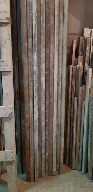 Lote de regles galvanizados 3 metros