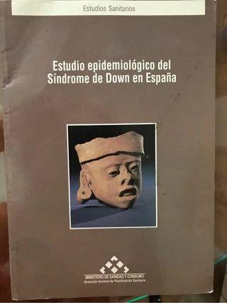 Libro medicina sobre el sd. Down en España