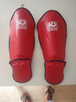 Espinilleras Protección Tibiales Kick Boxing