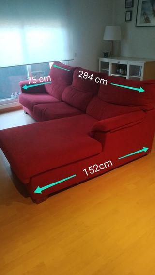 sofá chaiselong