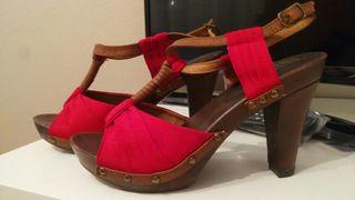 zapatos de tacon talla 37