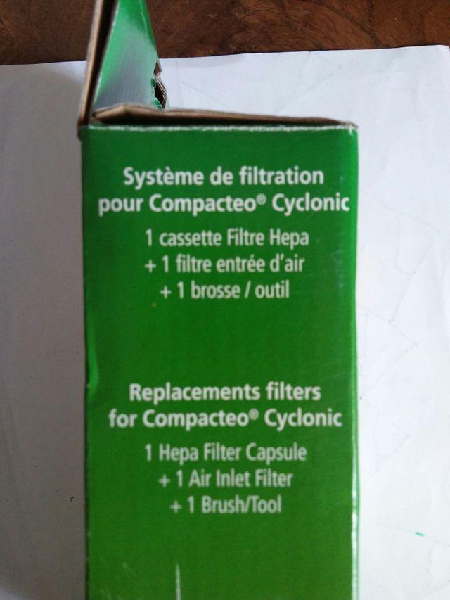 Filtro Hepa Rowenta compacteo cyclonic