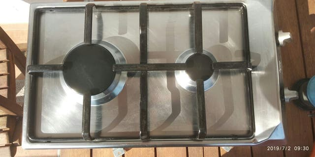 Cocina a gas