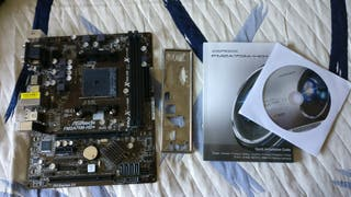 Placa base Asrock FM2a75m-hd+