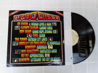 Vinilo 2 x LP TURBO DISCO
