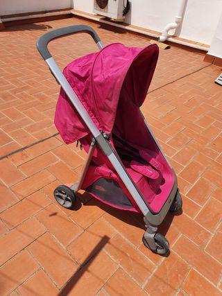 carrito de bebe 2 piesas