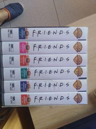 pack 6 películas serie Friends