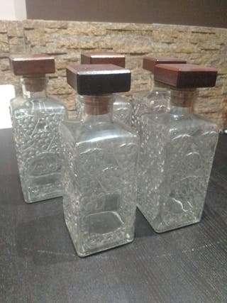 botellas decorativas de licor