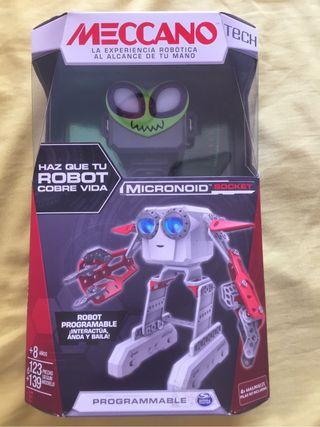 Robot Meccano Micronoid