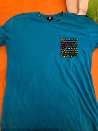 Camiseta azul DC
