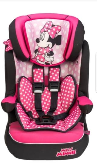 minnie mouse BRAND NEW car seat stage 1 2 3