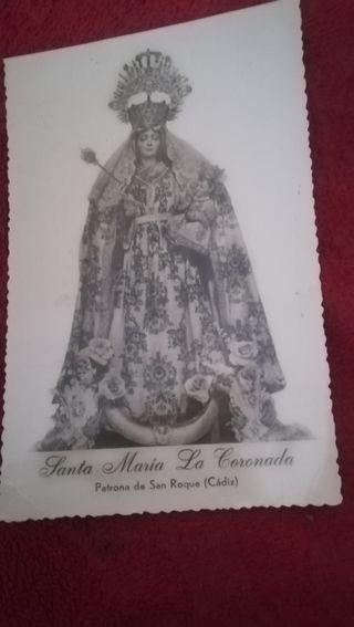 A, postal fotográfica, Santa Maria la Coronada