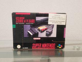 Cable Scart Super Nintendo