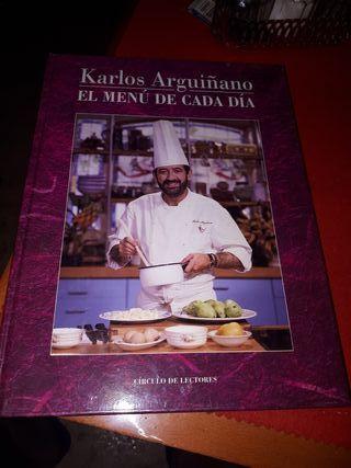 Libro de Recetas Karlos Arguiñano