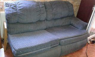 Vendo sofa cama mas conjunto de sillones