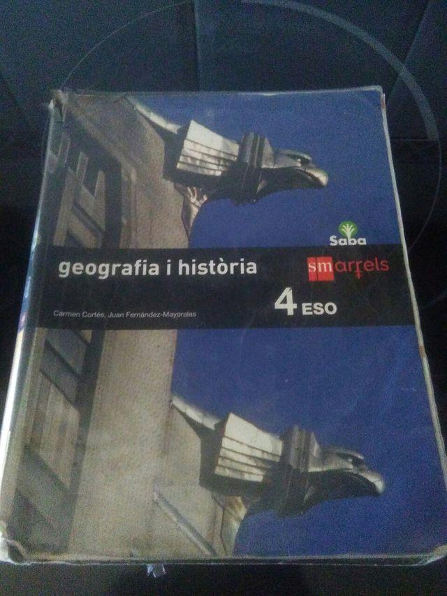 libro geografia i historia 4 ESO