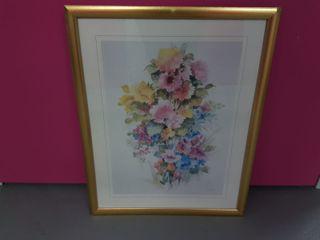 Cuadros Flores (Juego de dos cuadros)