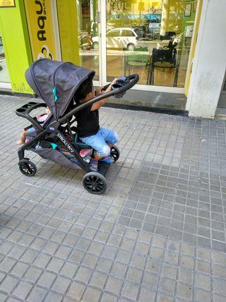 Carrito / Cochecito Bebés 2 niños
