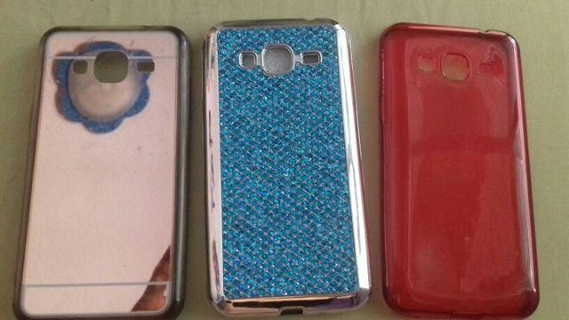 3 fundas de silicona del Samsung Galaxy J3 (2016)