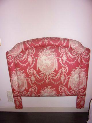 Cabecero tapizado para cama individual
