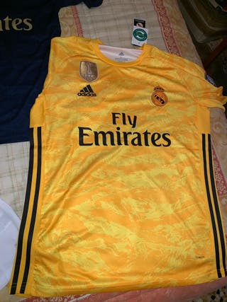 camiseta portero real Madrid