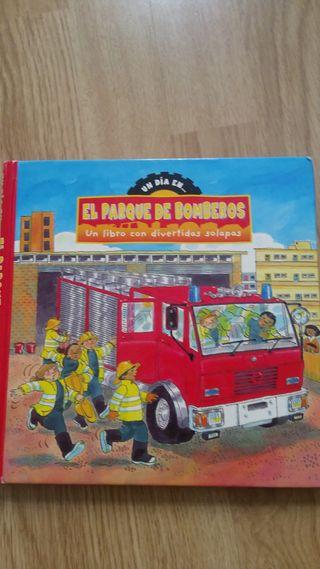 Libro Un Día En... El Parque De Bomberos