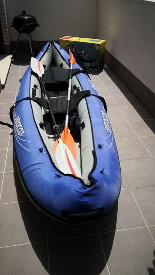 Kayak hinchable Sevylor Sirocco seminuevo