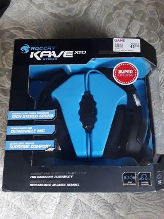 Nuevos Roccat kave xtd stereo gaming auriculares