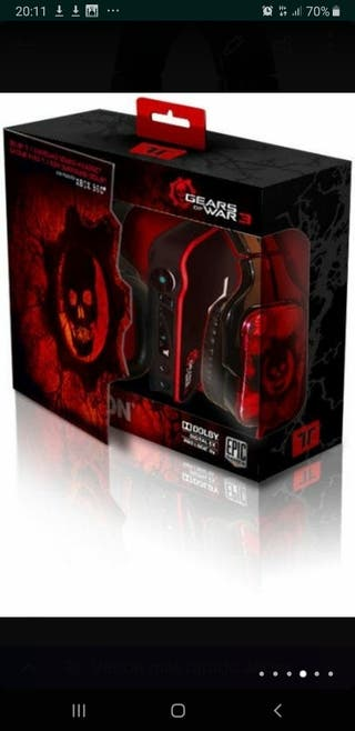 cascos gaming Tritton Gears of War Dolby 7.1