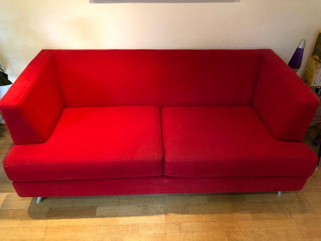 2 seater Habitat sofa Matthew Hilton design
