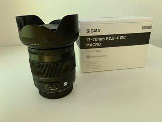 Objetivo Sigma 17-70mm F2.8-4 para Pentax