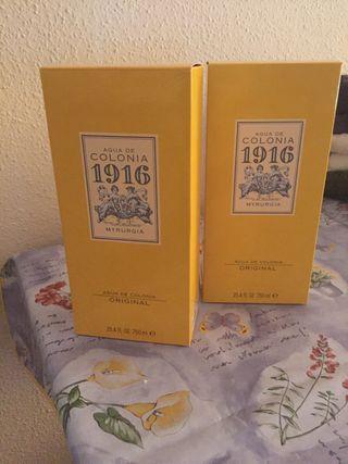 Colonia 1916 ( 10 Euros cada botella)