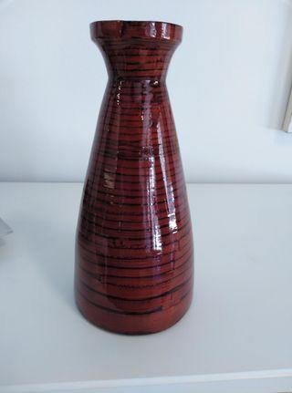 Jarrón botella florero