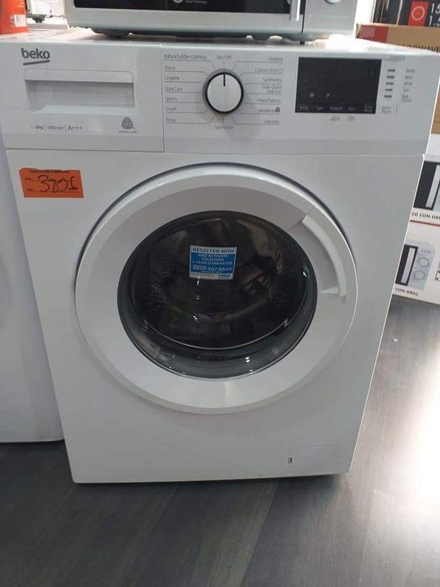 Conjunto Lavadora lavavajillas y frigorífico