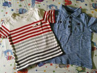 Lote camisetas Gap bebe
