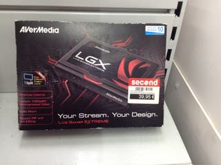 CAPTURADORA AVERMEDIA LGX
