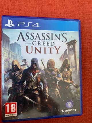 Assasin's Creed Unity PS4