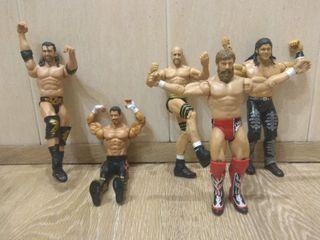 Muñecos articulados de WWE originales