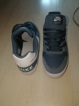 Zapatillas Nike SB Delta Force Vulc color Azul de segunda