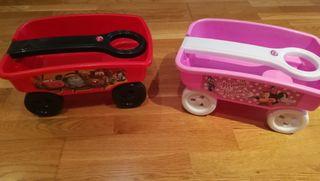 carritos para transportar juguetes