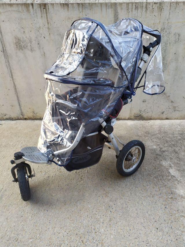 carrito bebé Jane ruedas grandes