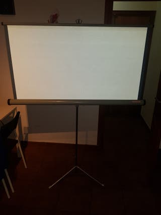 proyector pantalla