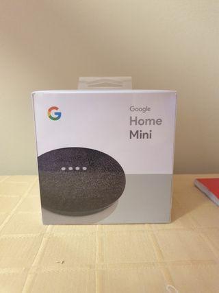Google Home Mini (color carbón)