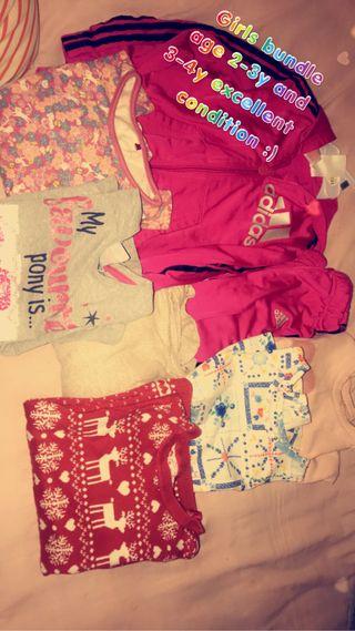 Baby girls bundle 2-4y