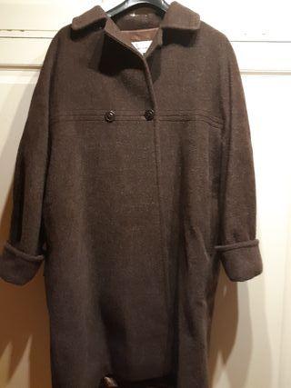 abrigo laserre de alpaca, lana y kidmchair