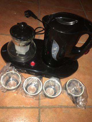Set calentador/ hervidor té a estrenar