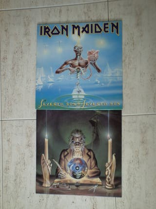 RON MAIDEN Vinilo Seventh Son of a Seventh Son