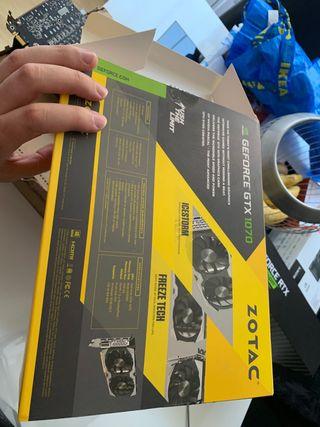 Tarjeta gráfica Zotac GTX 1070 Mini
